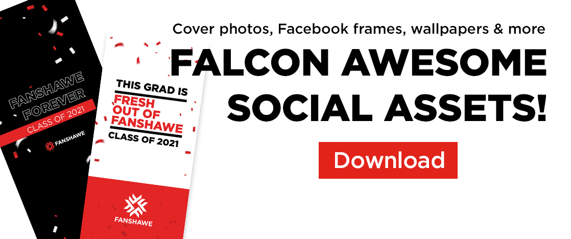 Falcon awesome social assets!